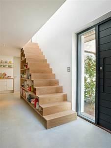 deco escalier bois dcoration escalier bois monte With nice peindre un escalier en gris 3 escalier bois et blanc mzaol