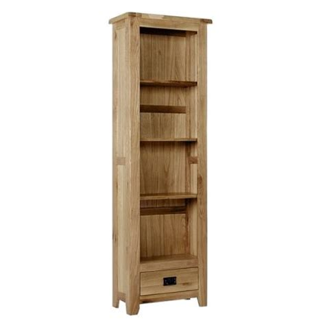 Buy Narrow Bookcase by Buy Westbury Reclaimed Oak Narrow Bookcase With