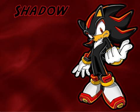 Sonic Characters Shadow