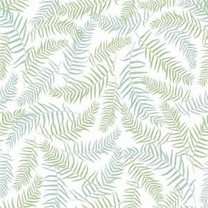 Green leaves pattern background Vector | Free Download