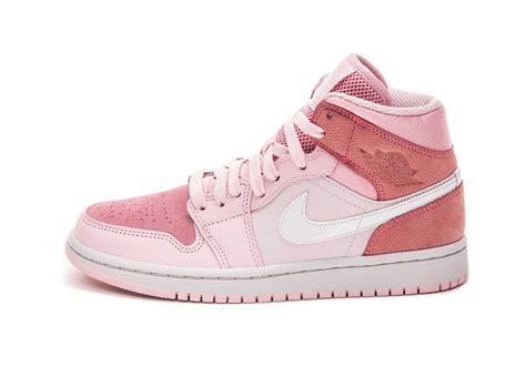 Buy Online Nike Wmns Air Jordan 1 Mid Digital Pink In