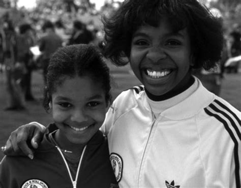 Young Janet Jackson and Gladys Knight | Gladys Knight ...