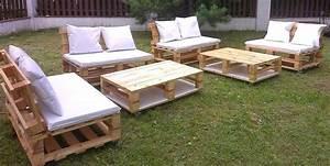 Pinterest Bricolage Jardin : 20 mod les de salons de jardin fabriqu s en bois de ~ Melissatoandfro.com Idées de Décoration