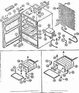 Fridgette Refrigerator Refregerator Compact Parts