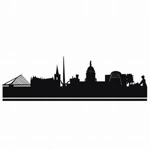 How To Make Height Chart At Home Skyline And City Wall Decals Dublin