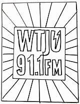 Coloring Radio Wtju Sunburst Quarantined Ages sketch template