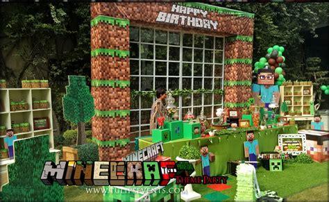 minecraft birthday party theme  birthday party