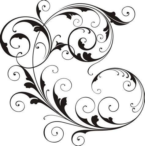 snowflake wedding invitations scroll line clip cliparts co