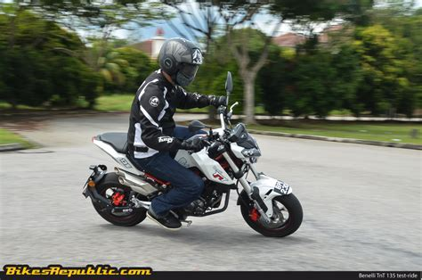 Benelli Tnt 135 Image by Test Ride Benelli Tnt 135 Mighty Mini Moto Bikesrepublic