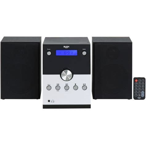 Bush Bluetooth CD Radio Micro System   Black   Micro Hi Fi