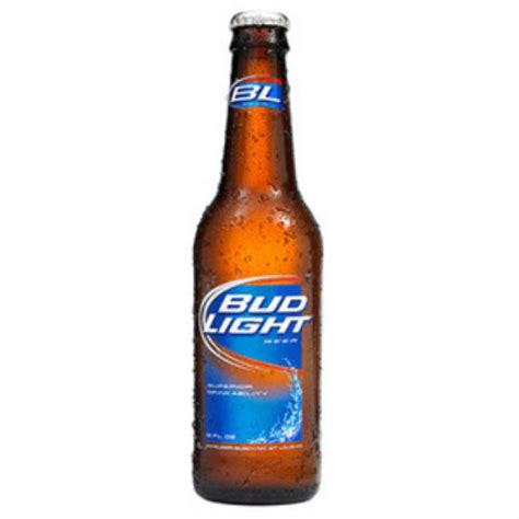 what s the content of bud light bud light 12oz bottle line and wine