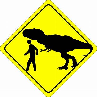 Caution Clipart Crossing Pedestrian Kaki Pejalan Funny