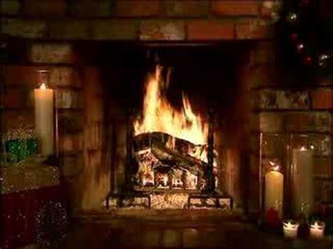 living fireplace christmas scene youtube
