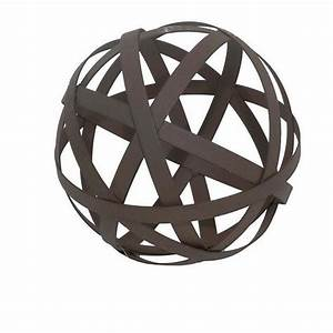 Home Decorators Collection 11 75 in dia Metal Orb