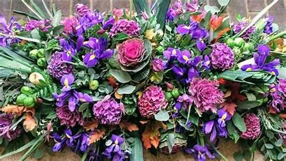 Funeral Flowers Coffin Funerals Arrangement Spray Rose