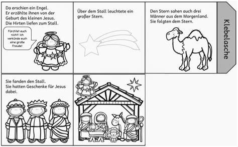 Faltleporello Zur Weihnachtsgeschichte Ein Leporello Zur