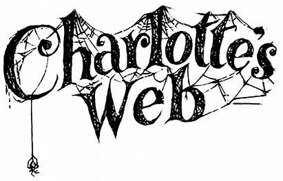 Charlotte Web Charlottes Spider Characters Coloring Font