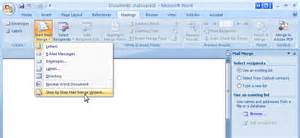 Aware That You Can Also Create A Mail Merge Via MS Word S Mail Merge We 39 Re Using This Letter As The Main Document For Our Mail Merge How To Create Merged Letters With MS Word 2010 S Mail Merge Selecting Step By Step Mail Merge Wizard