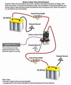 Stinger Isolator Wiring Diagram