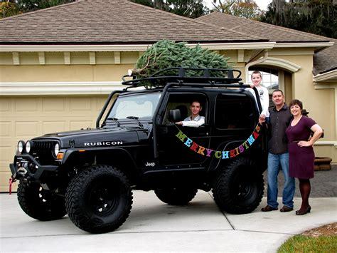 christmas card  jeep family  original ideas