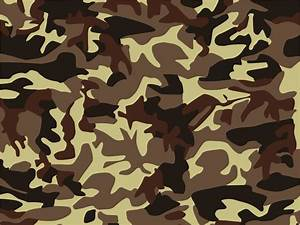 Brown seamless camouflage PPT Backgrounds - Abstract