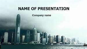 Download Free City Powerpoint Template For Presentation