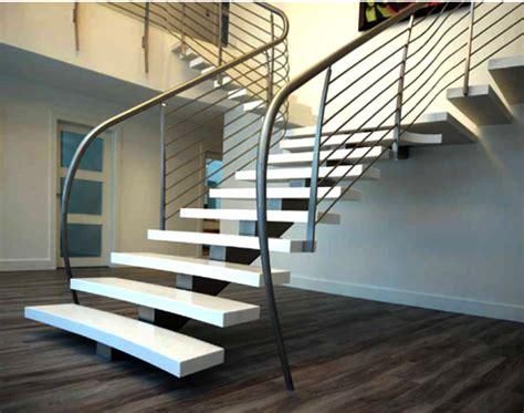 model tangga kayu modern minimalis sederhana rumah impian