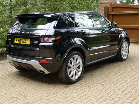 Uk Registered Range Rover Evoque Dynamic Lux 2.0 Petrol