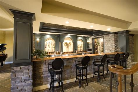 Bar Pictures Ideas by These 15 Basement Bar Ideas Are For The Quot Cave Quot
