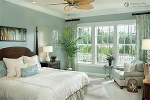 Sea, Green, Bedroom