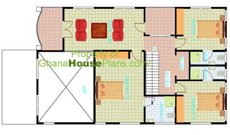 bedroom floor plans ghana house floor plans  bedroom