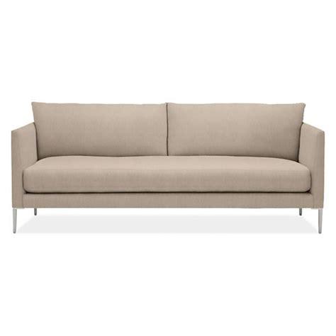 room board sofa room board lamour 84 quot bench cushion sofa melrose