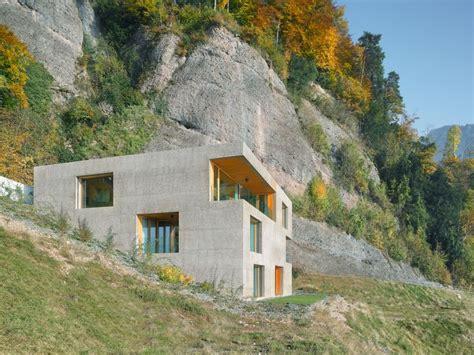 Moderne Häuser Aus Beton by Haus Am Hang Aus Beton Und Holz Beton H 228 User