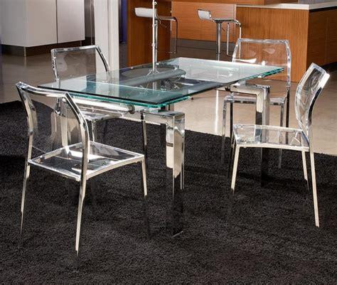chaise de bar transparente chaise salle a manger transparente maison design bahbe com