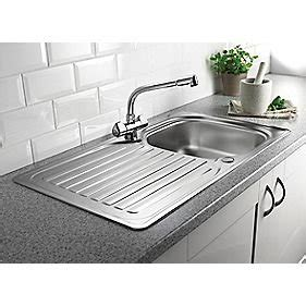 kitchen sink and tap set screwfix franke stainless steel kitchen sink and mixer tap 163 99 99