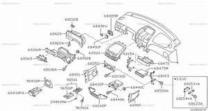 680 - Instrument Panel  Pad  U0026 Cluster Lid For Almera N16 Nissan Almera