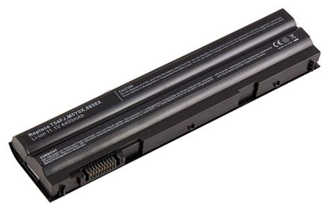 Denaq Lithium-ion Battery For Select Dell Laptops Black Nm