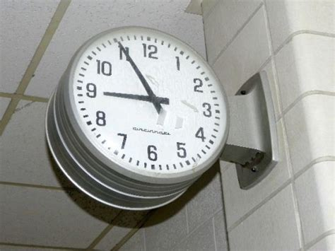 Clock, Industrial And Schools On Pinterest