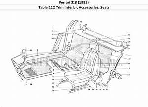 Buy Original Ferrari 328  1985  112 Trim Interior