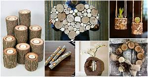 Diy, Log, Crafts, That, You, Will, Have, To, See