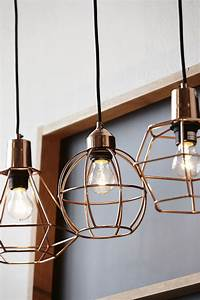 Examples of copper pendant lighting for your home