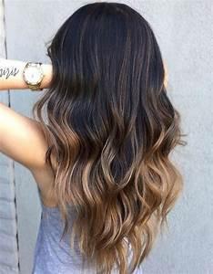 Ombré Hair Marron Caramel : ombr hair brune ombr hair les plus beaux d grad s de ~ Farleysfitness.com Idées de Décoration