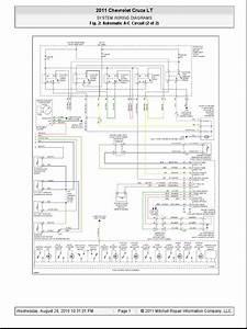 2011 Chevrolet Cruze Lt Diagramas Electricos 002