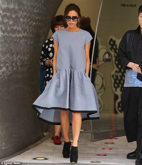 Victoria Beckham on THAT voluminous dress from Victoria Beckham spring/summer 14 collection ...
