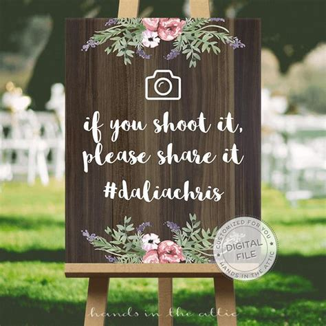 Wedding Signs by Wedding Social Media Hashtag Sign Wedding Signs Ideas If