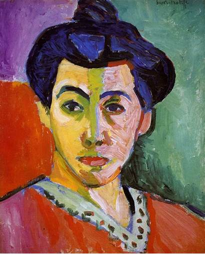 Matisse Portrait Madame Henri Line Painting Wife