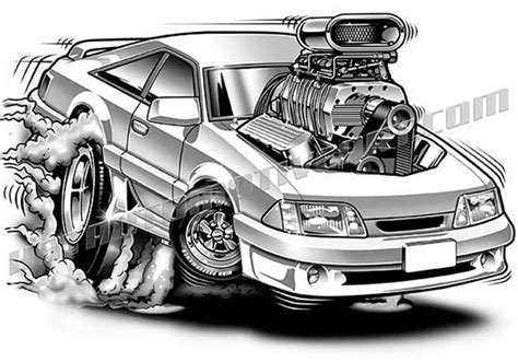 ford mustang cartoon clip art buy  images