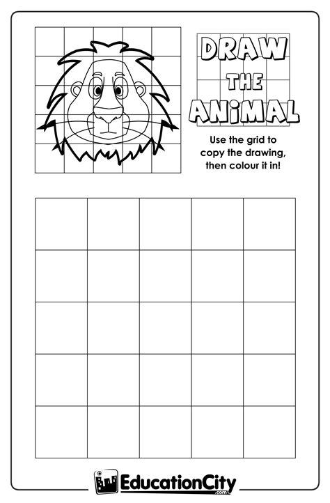 grid drawing worksheet free worksheets library