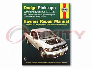 Dodge Ram 1500 Haynes Repair Manual Laramie Slt Sport Trx4