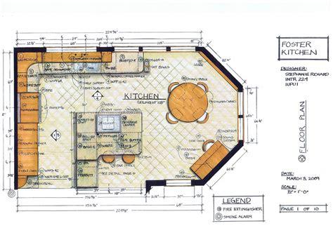 Kitchen Design Lesson Plans by Foster Kitchen Design Floor Plan Intr 224 Residential